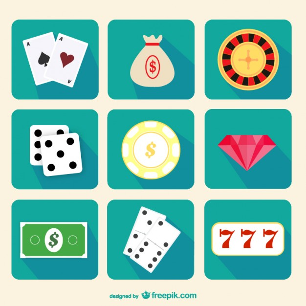 Casino icons pack  Vector |   Download