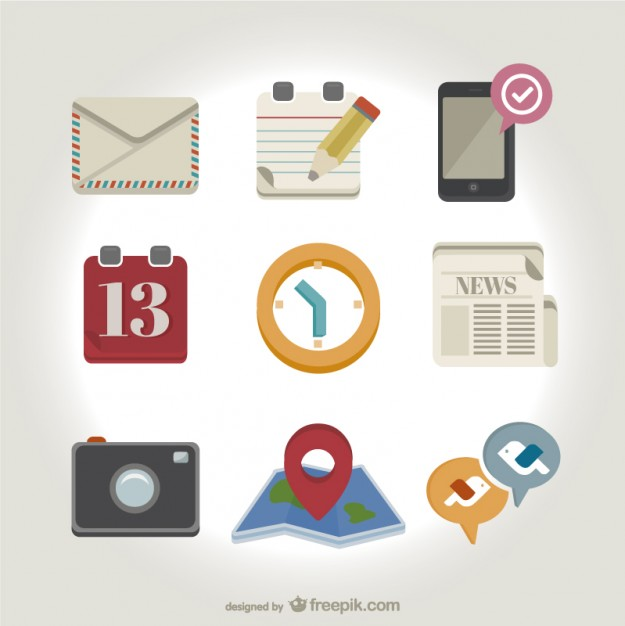 Apps icons pack  Vector |   Download