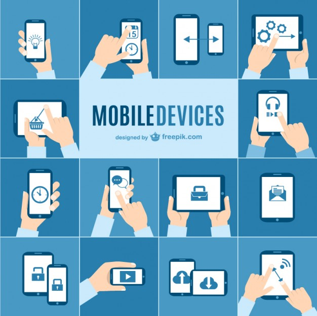 Mobile devices vector pack  Vector |   Download