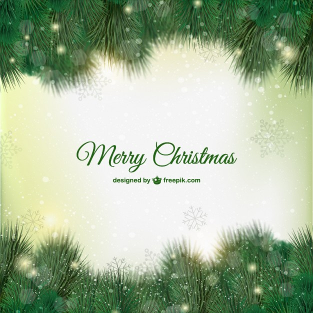Green Christmas card  Vector     Download