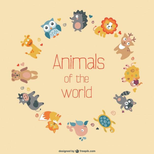 Vector animals  flat design   Vector     Download