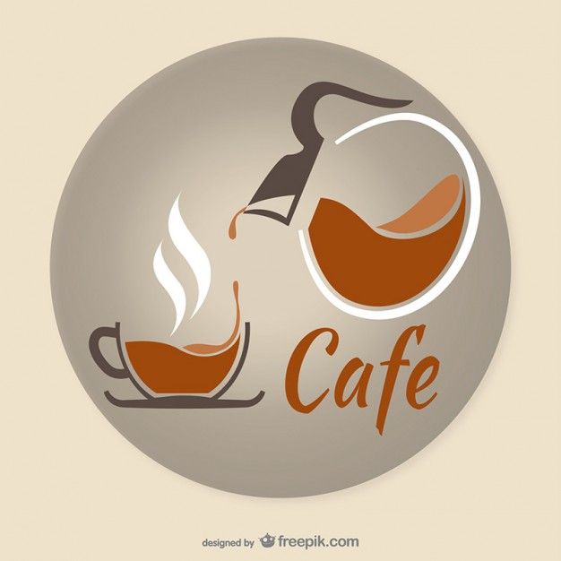 Artistic coffee vector  Vector |   Download