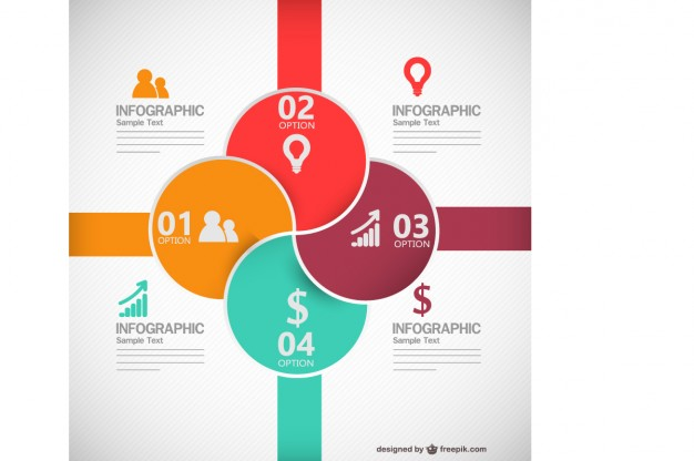 Vector infographic business style   Vector |   Download