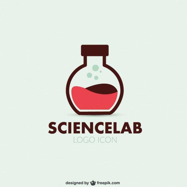 Science lab logo vector  Vector     Download