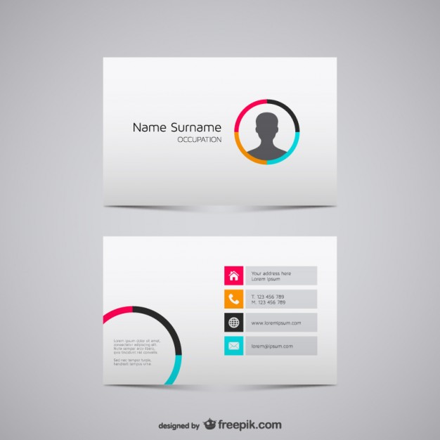 Business card vector graphics  Vector |   Download
