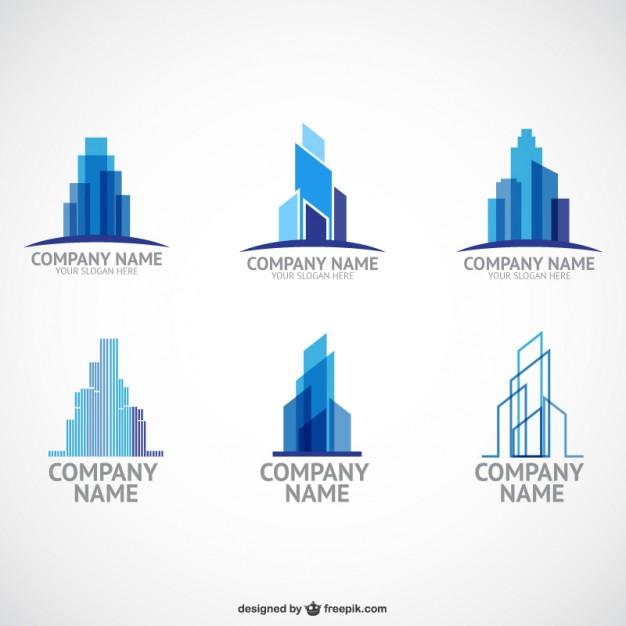 Construction company logo templates  Vector     Download