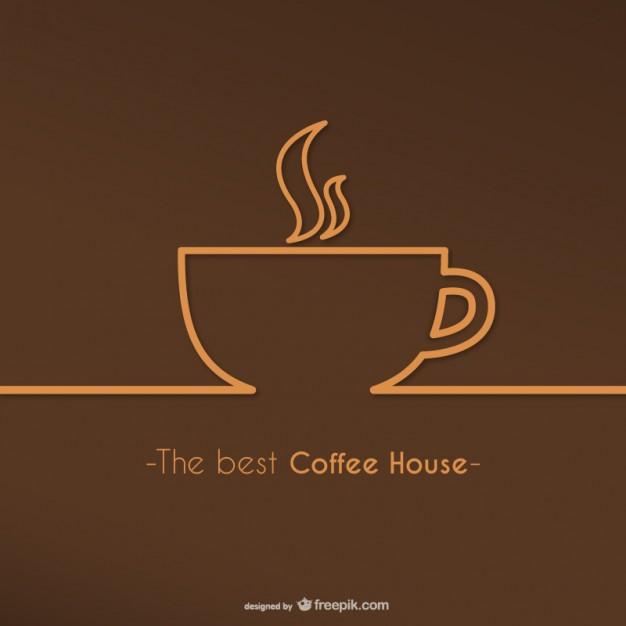 Best coffee house logo vector  Vector     Download