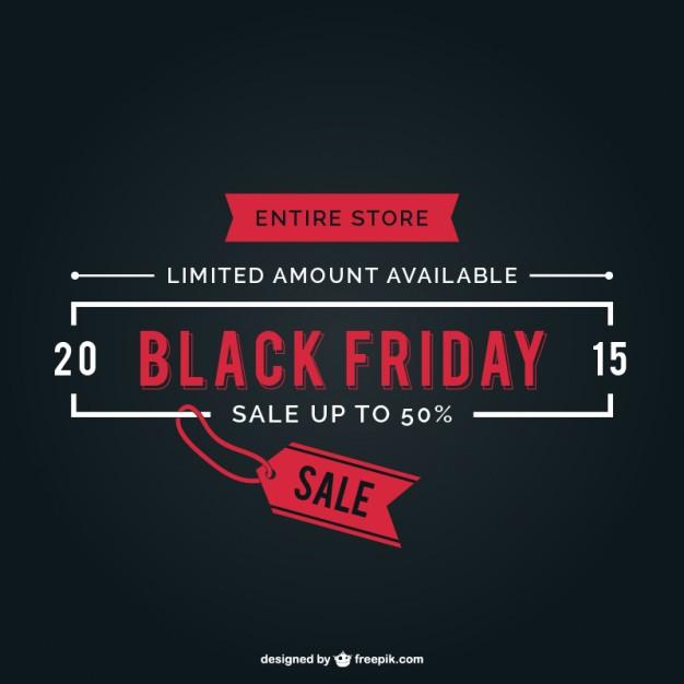 Black Friday sale label vector  Vector |   Download