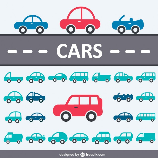 Cars icon collection  Vector |   Download