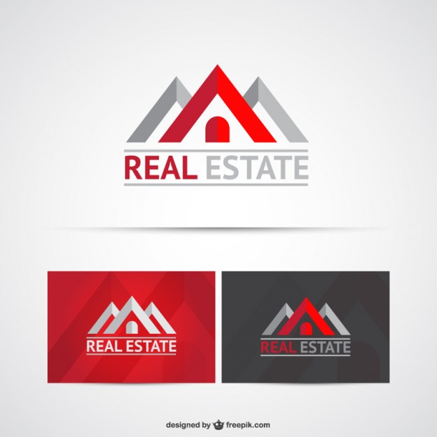 Real State logo templates  Vector     Download