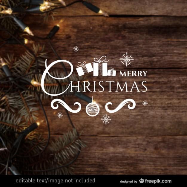 Merry Christmas label vector  Vector     Download