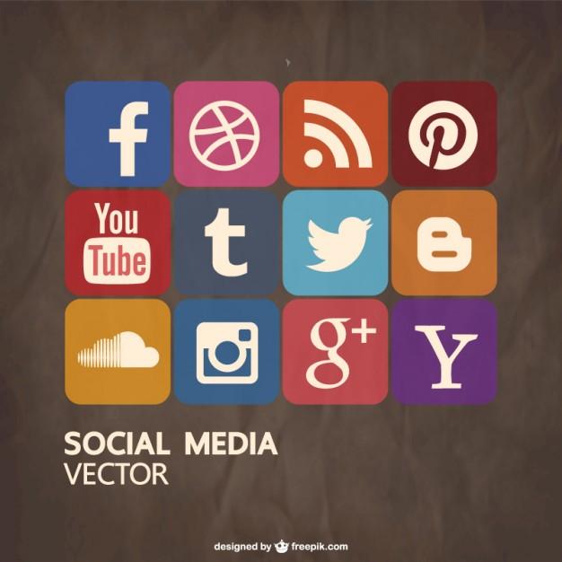 Social media  vector   Vector     Download