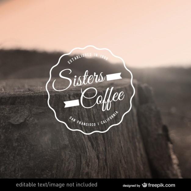 Coffee vector editable logo  Vector     Download