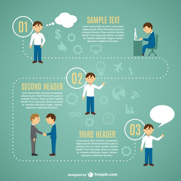 Looking for job infographic template  Vector     Download