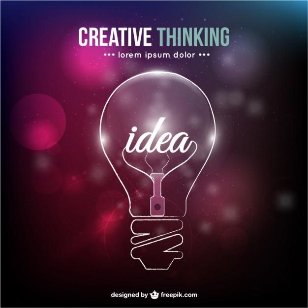 Creative thinking conceptual vector  Vector     Download