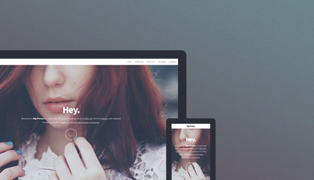 Big Picture HTML5 Responsive Template
