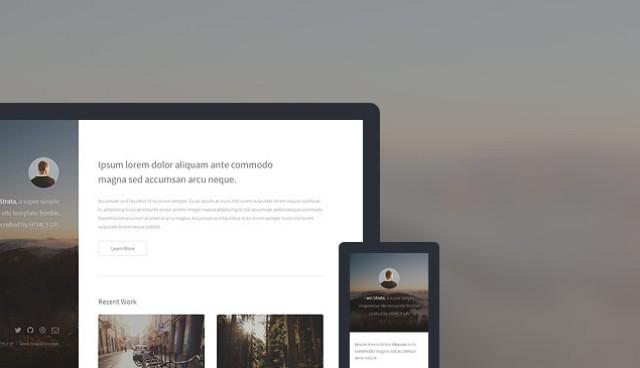 Strata HTML5 Responsive Template