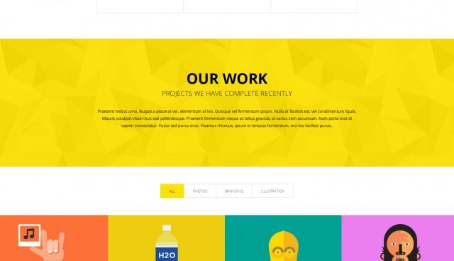 QVA – One Page Multi-purpose HTML Template