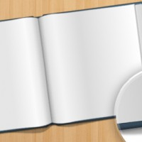 Opened Book Free PSD Graphic