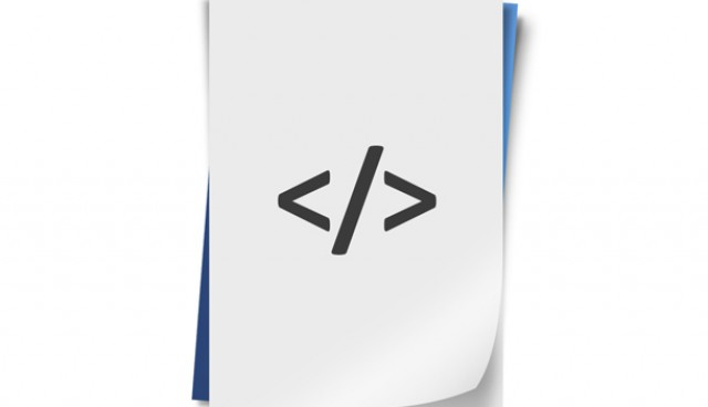 Programming code icon (PSD)