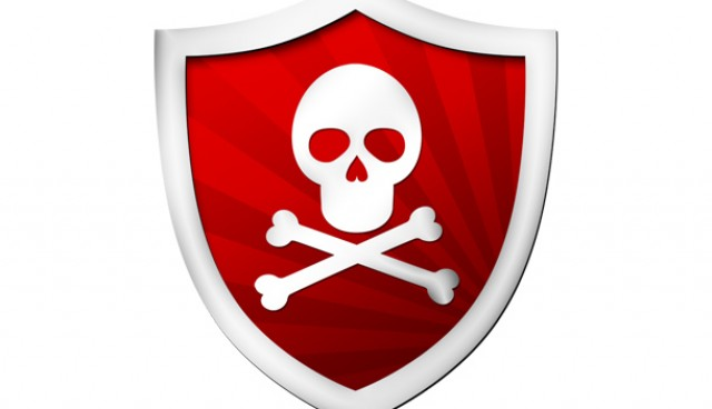 Online scam icon (PSD)