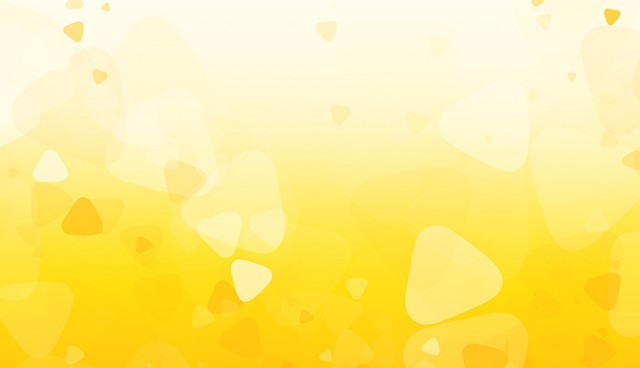 Yellow shapes background