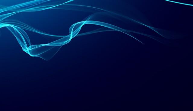 Blue smoke design