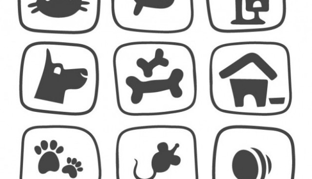 Pet icons pack  Vector |   Download