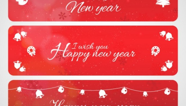 Christmas greetings banners   Vector |   Download