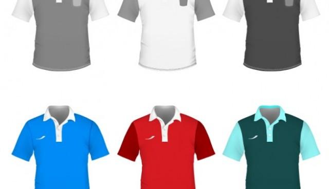 Polo shirt vector template  Vector |   Download