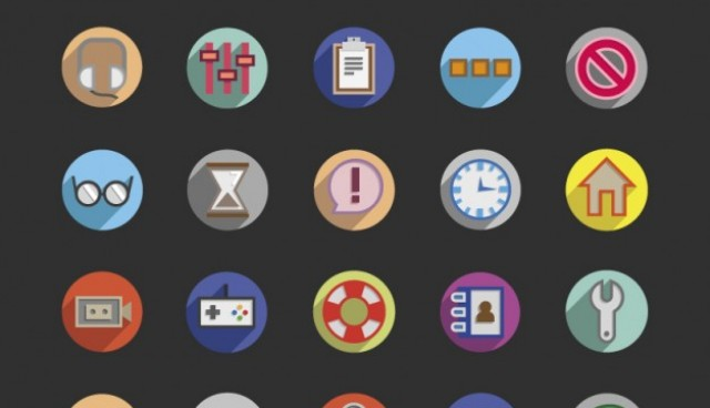 3D Round icons  Vector |   Download
