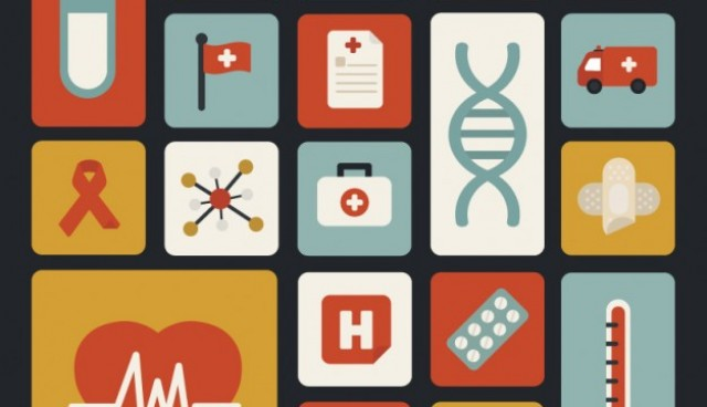 Medicine flat icons pack  Vector |   Download