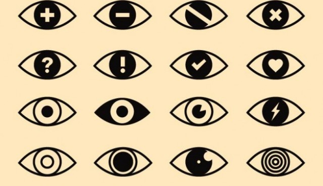 Eyes icons pack  Vector |   Download