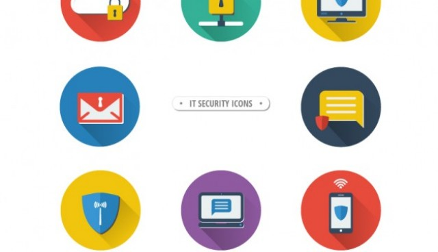 IT Security icons  Vector |   Download