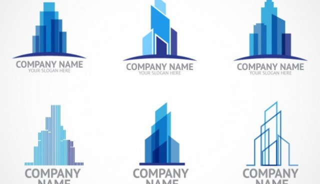Construction company logo templates  Vector |   Download