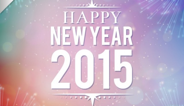 Happy 2015 vector  Vector |   Download