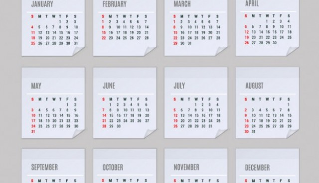2015 Calendar vector  Vector |   Download