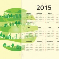 Printable Eco System Calendar 2015