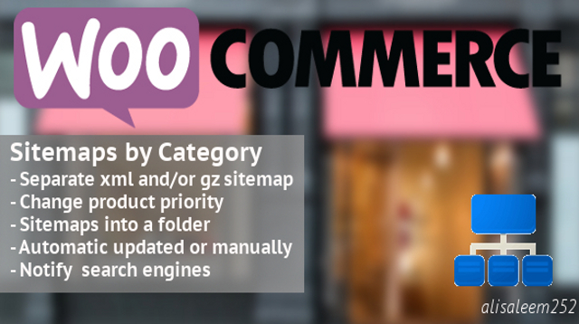 WooCommerce Sitemaps by Categories