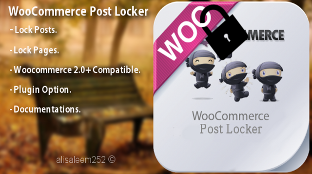 Woocommerce Post Locker