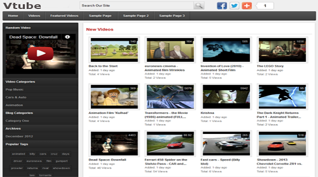 Vtube – Advanced WordPress Video Theme