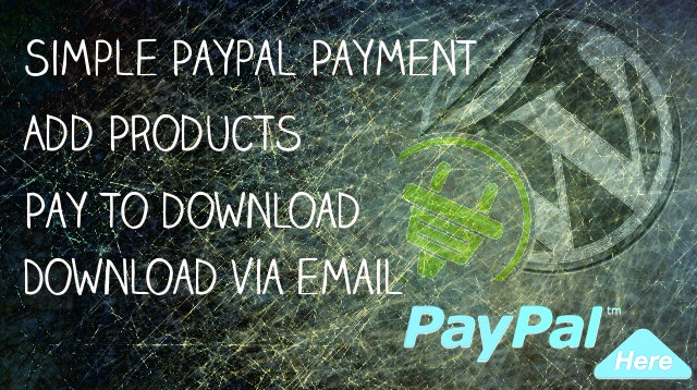 Simple Paypal File Download WordPress Plugin