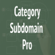 WordPress Category Subdomain Pro