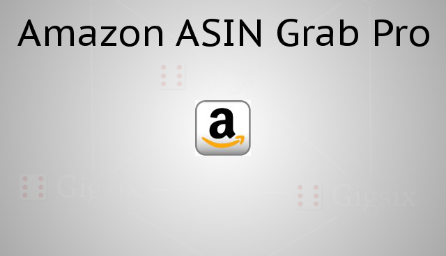 Amazon Product Identifier Number Grabber ASIN